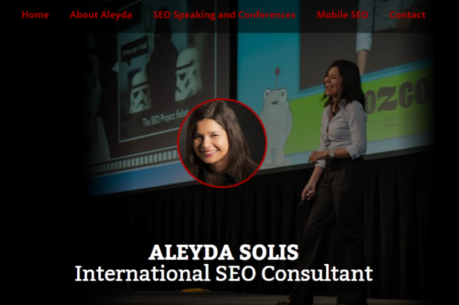 Aleyda SEO Consultant