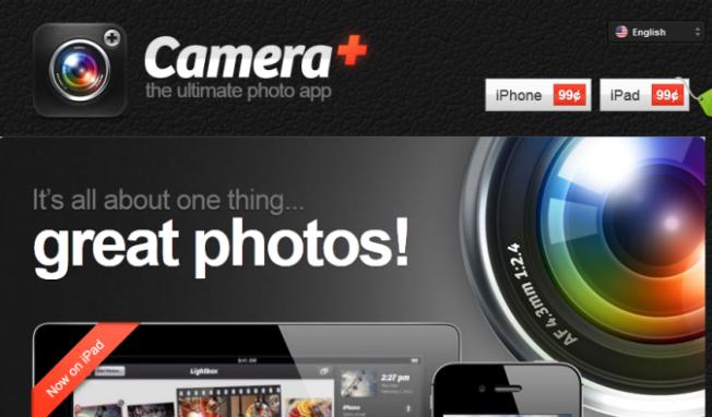 iPhone App Camera+