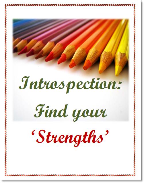 Find your strengths Worksheet