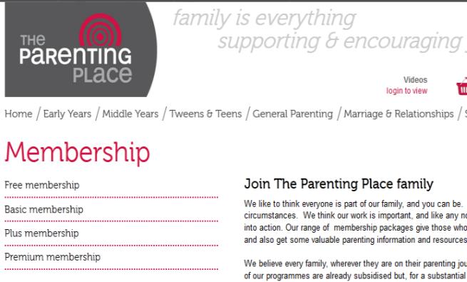 Online Parenting Community