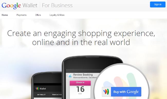 Payment Gateway - Google Wallet