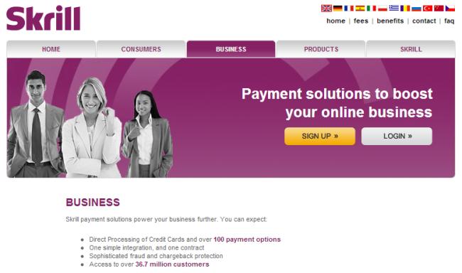 Payment Gateway - Skrill