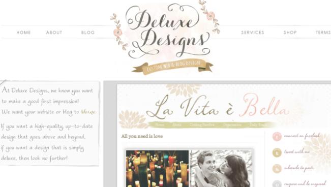 Professional Designer: Deluxe Designs