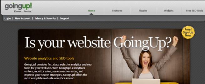 GoingUp Site Analytics