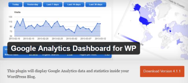 Google Analytics Dashboard WP Plugin
