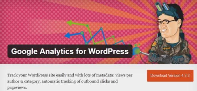 Google Analytics WP Plugin - Yoast