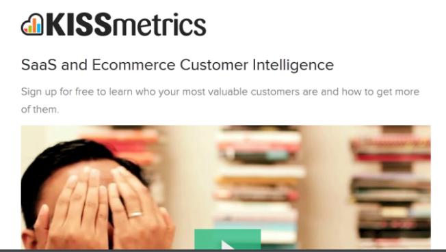 KISSmetrics Customer Intelligence Tool