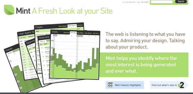 Mint Web Analytics
