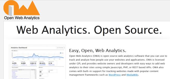 Open Web Analytics Software