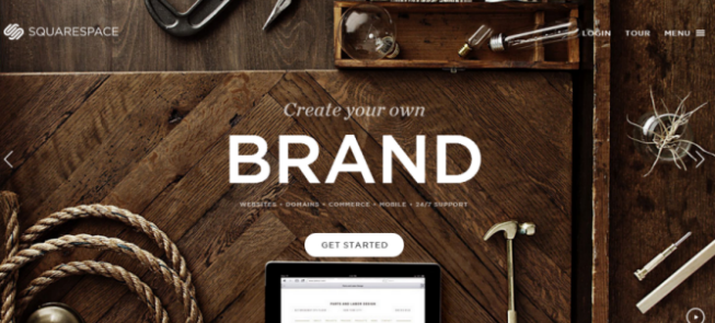 Online Website Builder - squarespace