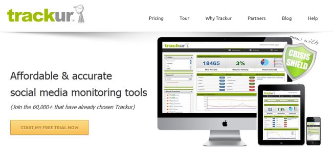 Trackur Social Media Tracking