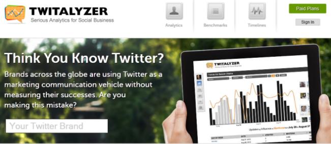 Twitalyzer Tool