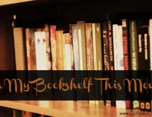 What's On My Bookshelf – September Edition