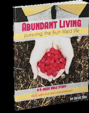 Abundant Living Bible Study