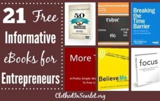 21 Free Informative eBooks for Entrepreneurs