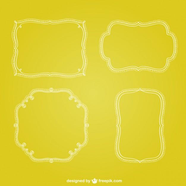 Retro Minimalist Frames