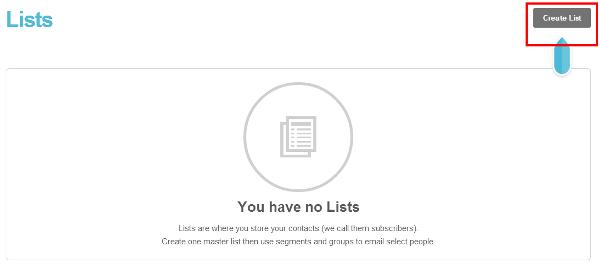 Create list
