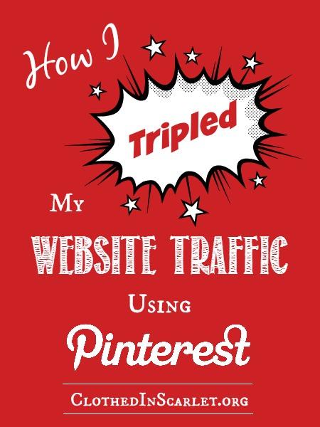 How I Tripled My Website Traffic Using Pinterest